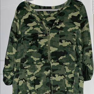 Torrid Size 2 Camo Dress